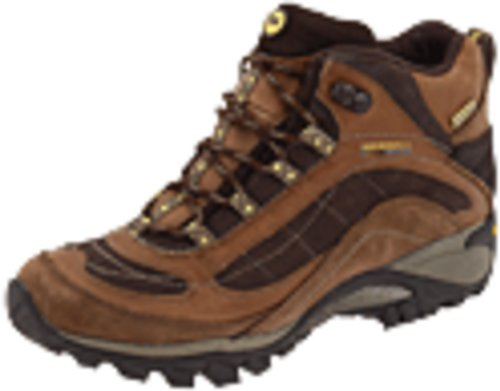Merrell Siren mediana bota impermeable Brown