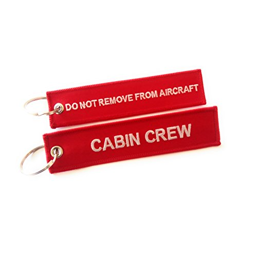 Crew Luggage Tag Remove Aircraft product image