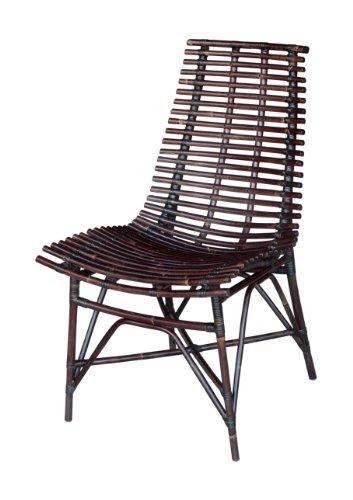 Jeffan International Franklin Side Chair, Light Black by Jeffan International