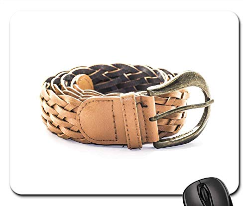 - Mouse Pads - Waist Belt Belt Fashion Buckle Leather Network
