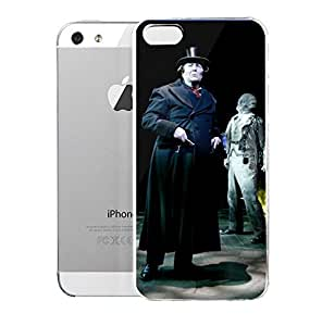 Case for iPhone 5/5s NorfhShofeMuslcTheatfe High Voltage Holiday Cheer A Christmas Carol A Musical Ghost