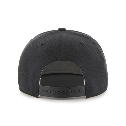 Seattle Mariners 47 Brand Vintage Black Sure Shot Adjustable Snapback Hat Cap