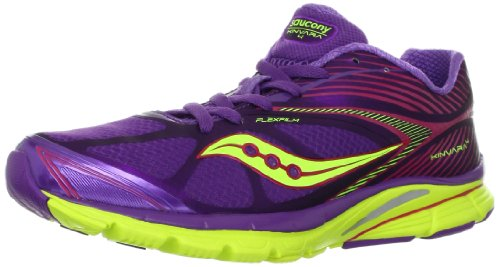 Cheap Saucony Women's Kinvara 4 Running Shoe,Purple/Pink/Citron,5 M US