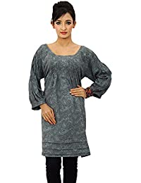 Printed Dress Polyester Kurta Summer Wear Women Clothing