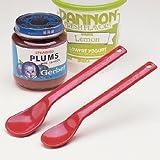 Sammons Preston Maroon Spoon Package of 5, Large