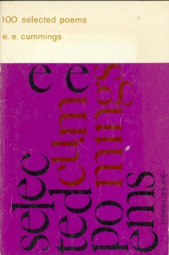 100 Selected Poems, cummings, e. e.