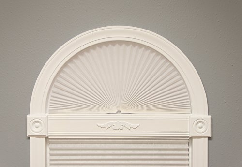"""Original Arch Light Filtering Fabric Shade, White, 72"""" x 36"""" by Redi Shade (Image #6)'"""