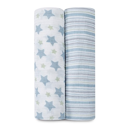 aden anais Classic Swaddle Charming