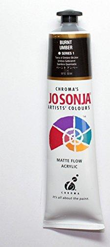 - Jo Sonja's Artists' Colour 75 ml Tube - Burnt Umber