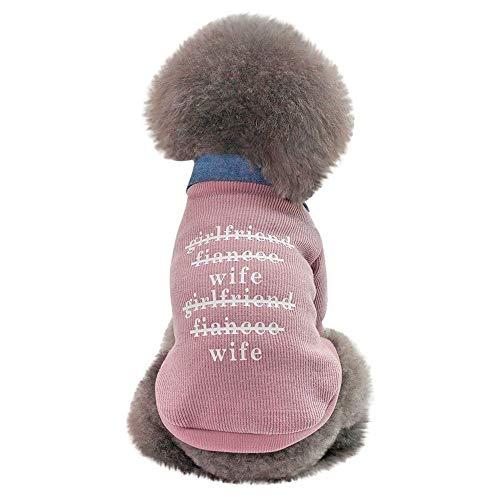 (RSHSJCZZY Pet Autumn Winter Keep Warm Sweaters Pet Dog Sweater Costumes Soft Cotton)