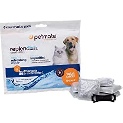 Petmate Replacement Filters for Replendish Auto-Watering Systems, Pack of 6 filters, 6 CT