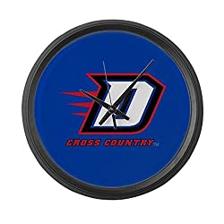 CafePress - DePaul D Cross Country - Large 17 Round Wall Clock, Unique Decorative Clock