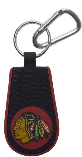 Chicago Blackhawks Key Ring - GameWear Chicago Blackhawks Classic Hockey Keychain