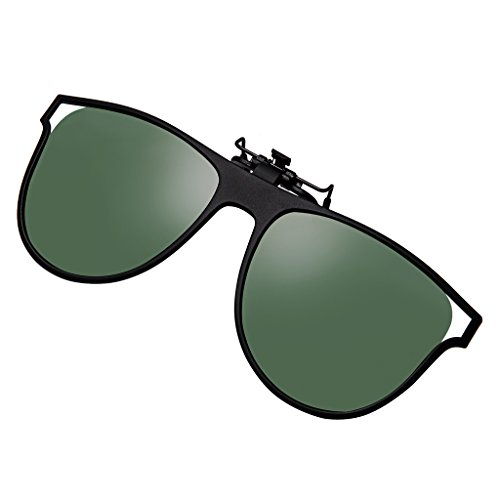 184682f588a BELLBESSON - Polarized Clip-on Flip up Clip Sunglasses Lenses for Driving  Fishing Outdoor Sport