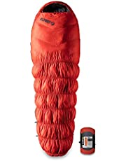 Sparen Sie auf Klymit Aufblasbare Outdoor Campingmatte Luftmatratze KSB 0Grad Daunen Schlafsack, Orange