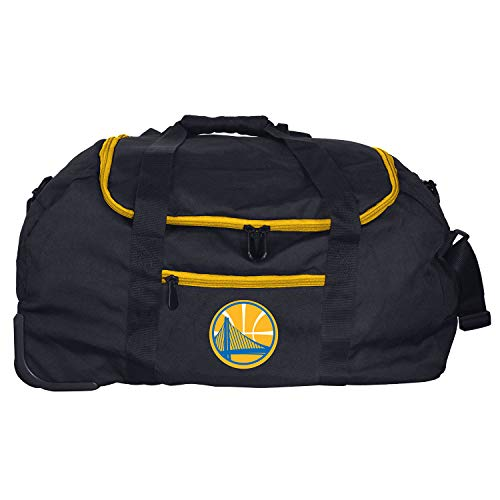 (NBA Golden State Warriors Mini Collapsible Duffel, 22-inches)