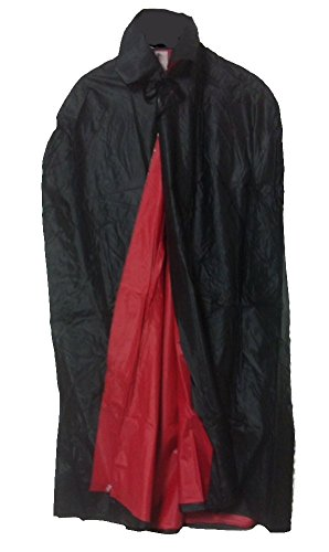 Reversible Black/Red Vinyl Cape 44 inches long for -