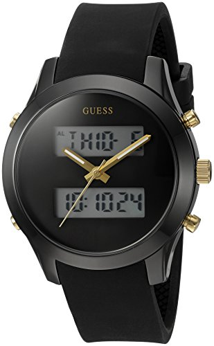 GUESS U0894L4 Stainless Multi Function Silicone