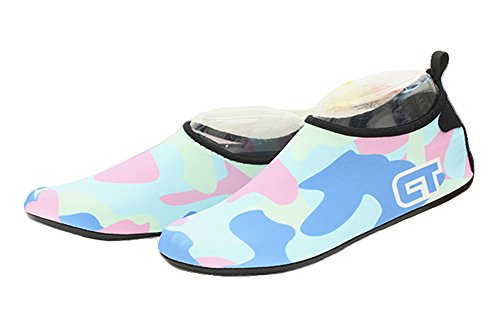 For Sports Adult Socks Fortuning's JDS Pool Skin Sole Water Surf Blue Water Durable Yoga Swim Neoprene Camouflage Aqua Shoes Barefoot Beach 7wgHqA