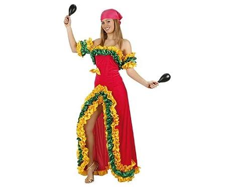 bddfd9d379 Atosa 93763 Costume da Brasiliana, Rosa. Donna [Giocattolo]: Amazon ...