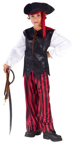 Caribbean Pirate Shoes - Caribbean Pirate Kids Costume