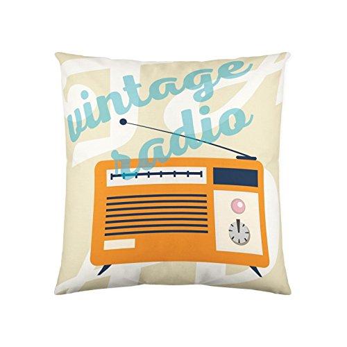 NATURALS COJÍN con Relleno Radio 50X50 CM: Amazon.es: Hogar
