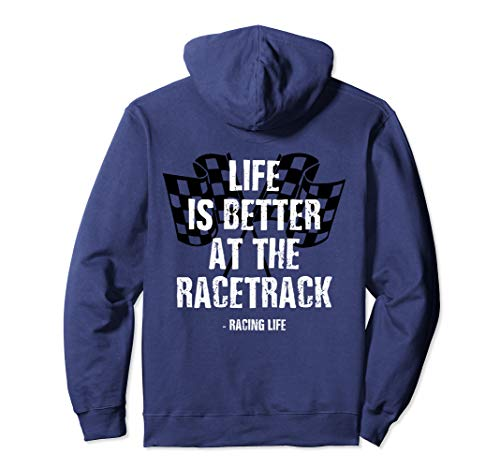 Dirt Track Racing Shirt Checker Flag Racing Hoodie Race Flag