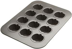 Chicago Metallic 12-cup Lift & Serve Mini Pumpkin Cheesecake Pan