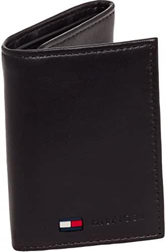Tommy Hilfiger Men's Stockton Leather Trifold Wallet