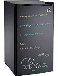 Igloo Eraser Board Refrigerator with 2 Adjustable Shelves, 2L Bottle in door, Adjustable Thermostat and Reversible Door