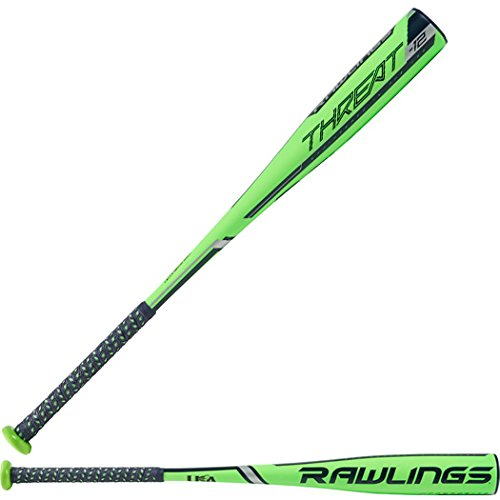 Rawlings - 2019 Threat USA Baseball Bat Size: 29in/17oz