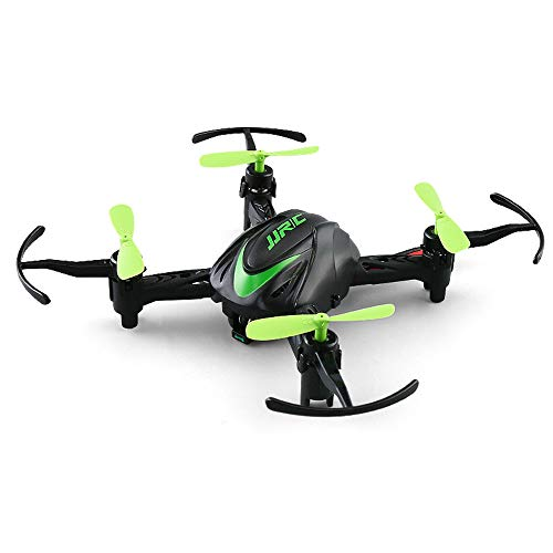 Mini Drone RC Quadcopter Foldable Altitude Hold Headless Mini H48 Drone 6 Axis 2.4G RC Micro Quadcopters Remote Control for Kid Remote Control Super Easy Fly for Training (Green)