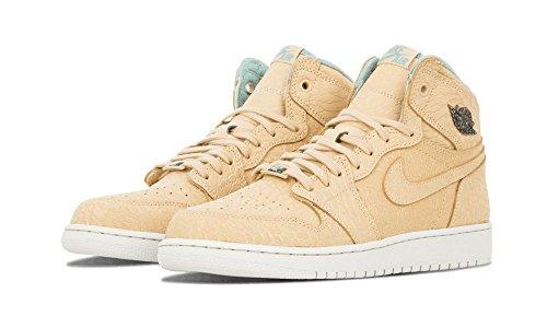 Nike Air Jordan 1 Rétro Salut Og Peal Gg Salut Top Formateurs 743957 Sneakers Chaussures Sable Dune Canon Flt Or 207