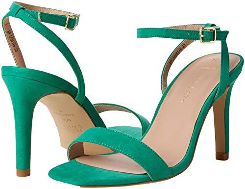 Wide Col Punta Green Sensie bright 30 Scarpe Foot New Look Aperta Donna Tacco Verde XSxfwX5