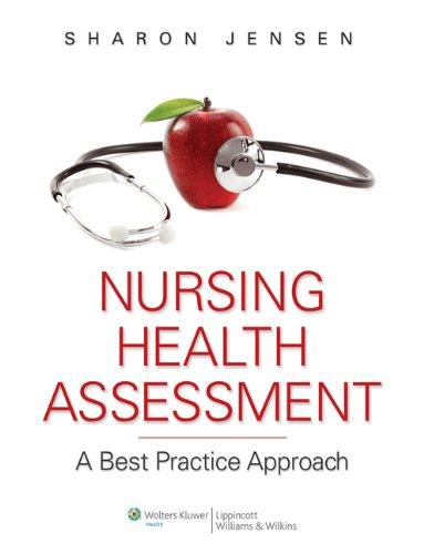 Jensen Text & PrepU plus LWW Nursing Health Assessment Video Package