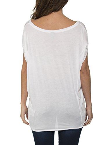 Bench AMPLIZE - Camiseta para Mujer Blanco (Bright White WH001)