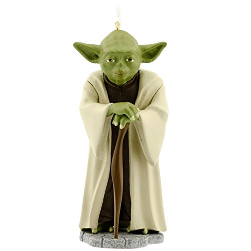 (Hallmark Star Wars Yoda Christmas Ornament)