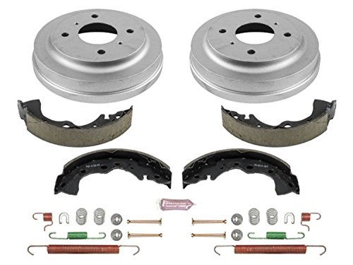 Nissan Rear Brake Drum - Power Stop Rear KOE15376DK Daily Driver Drum and Shoe Kits