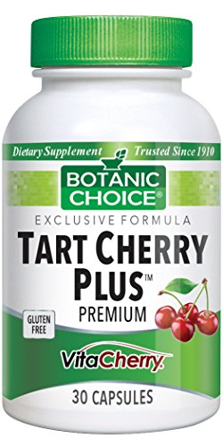 Cheap Botanic Choice Tart Cherry Plus Capsules, 30 Count (Pack of 2)