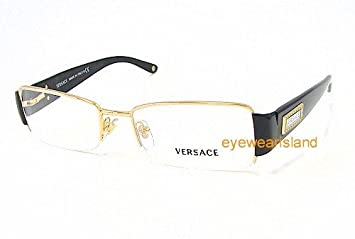 026d49ec53 Image Unavailable. Image not available for. Color  VERSACE Eyeglasses VE  1140 1002 Gold 51MM