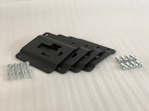 TR DIESEL Bed-Standard Interface Plates Cargo Tie Down Brackets Fits Ford 2015-2018 F150 4 Pieces