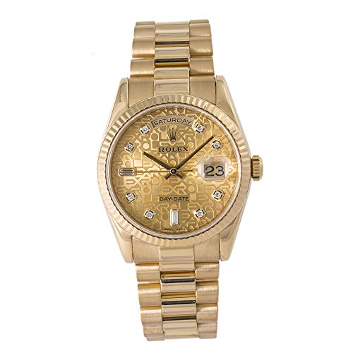 Certified Pre-Owned Rolex Day-Date Reference 118238 Watch. Comes with Authentic Box & Papers