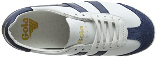 White baltic white baltic 50 Donna Gola Ex Leather Sneaker Harrier Bianco xqtwPIF7P