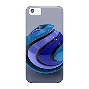 New Blue Sphere 3d Tpu Skin Cases Compatible With Iphone 5c