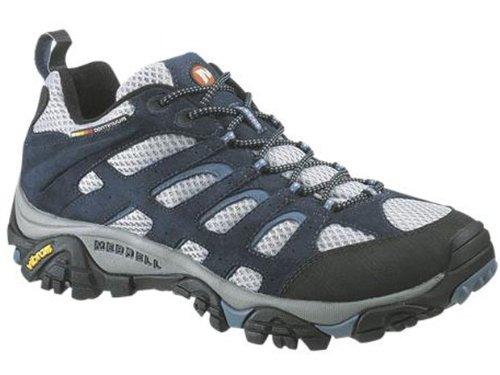 Ventilator Hiking Gray Moab Shoe Men's Navy Merrell qH1ZEE