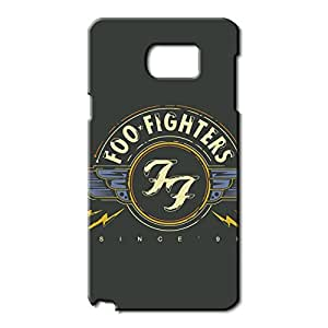 Simple Design Foo Fighters Logo Phone Case 3D Hard Plastic Case Cover For Samsung Galaxy Note 5