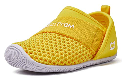 - Baby Sneakers Girls Boys Mesh First Walkers Shoes 6 9 12 18 24 Months Yellow