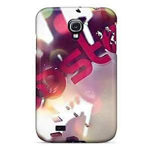 Galaxy S4 Cases Covers Skin : Premium High Quality 3d Dubstep Logo Cases