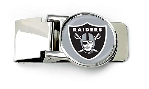 (aminco NFL Oakland Raiders Unisex InternationalNFL Classic Money Clip, Team Color,)