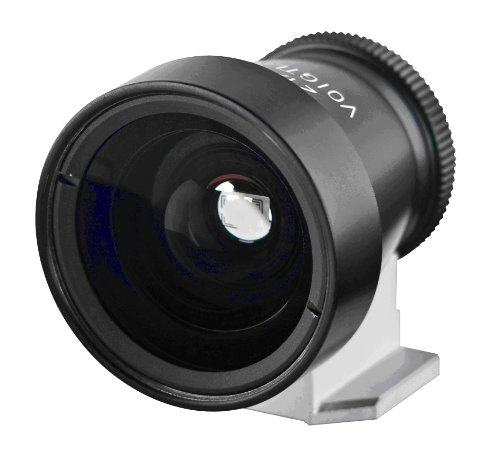 Voigtlander 21mm and 25mm Metal Viewfinder, Black